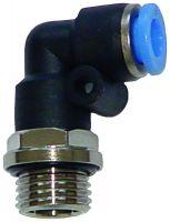 Vorschau: Schnellsteckverbinder – L-Winkelsteckverschraubung mit Außengewinde