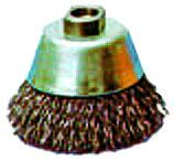 Topfbürste 60 mm, Stahldraht