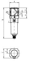 Vorschau: Mikrofilter Typ 491 - G1/4–G1