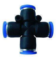 Steckverbinder, DN 4 aussen, X-Form