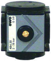 Vorschau: Pneumatisches Anfahrventil Typ 484 - G1/4–G1