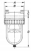 Vorschau: Druckluftfilter - G3/4–G1 1/2