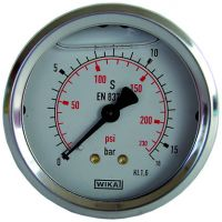 Vorschau: Glyzerin-Manometer, Ø63
