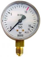 Manometer, 0 - 16 / 10 bar, G1/4