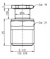Adapter-Set für Anbau-Ablassventile