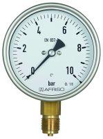 Vorschau: Rohrfeder-Industriemanometer ø100