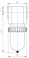 Vorschau: Mikrofilter - G1½ – G2