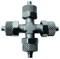 Vorschau: Schnellverschraubungen für Kunststoffschläuche - KV – Kreuz-Verteiler