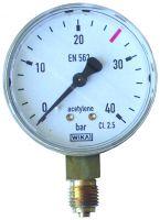 Manometer, 0 - 40 / 26 bar, G1/4