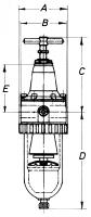 Vorschau: Filterdruckregler - G⅛ – G½